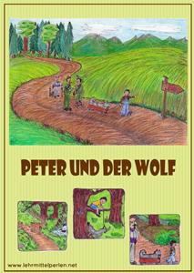 peter und der wolf schule pinterest peter und der wolf musikunterricht und schulideen. Black Bedroom Furniture Sets. Home Design Ideas