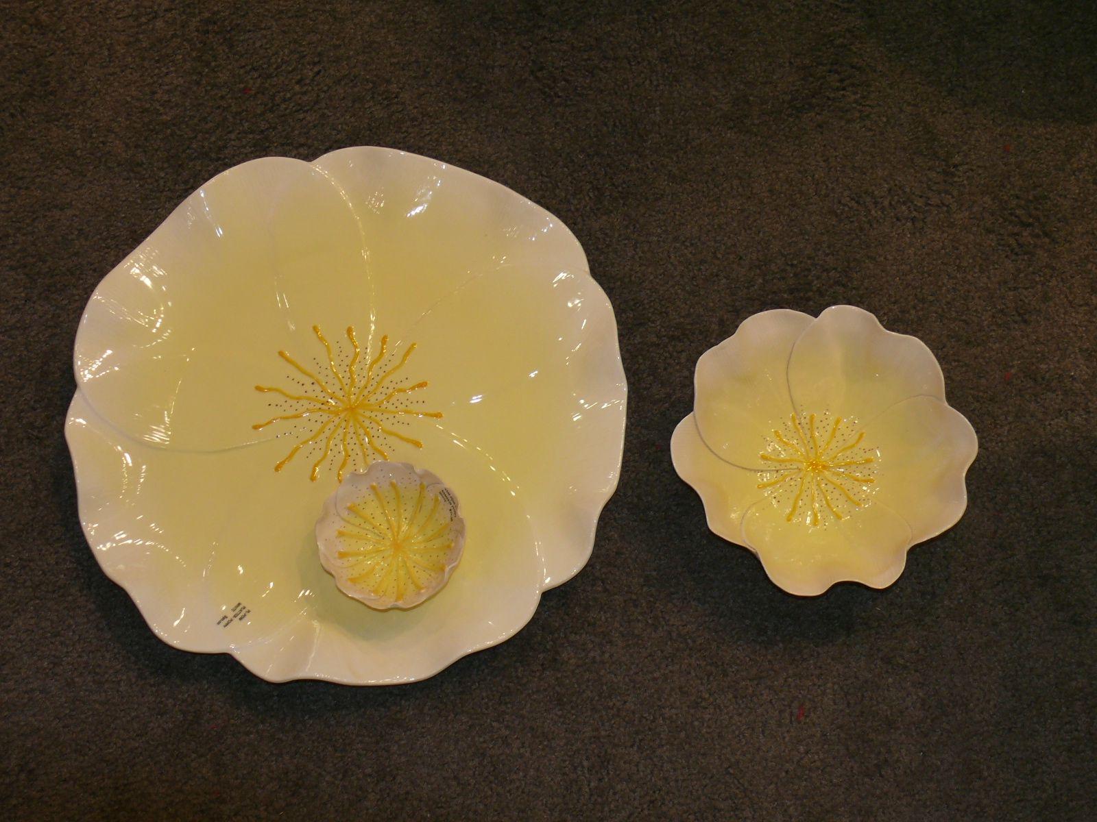 Mustardsee & Moonshine Dessert Bowl-Poppy Yellow