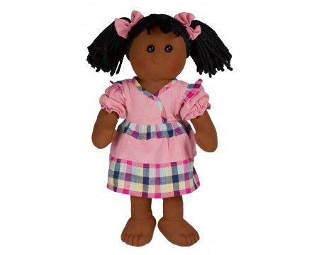 """1467 NEW Teddykompaniet Sweden Nellie Soft Rag Doll 15/"""""""