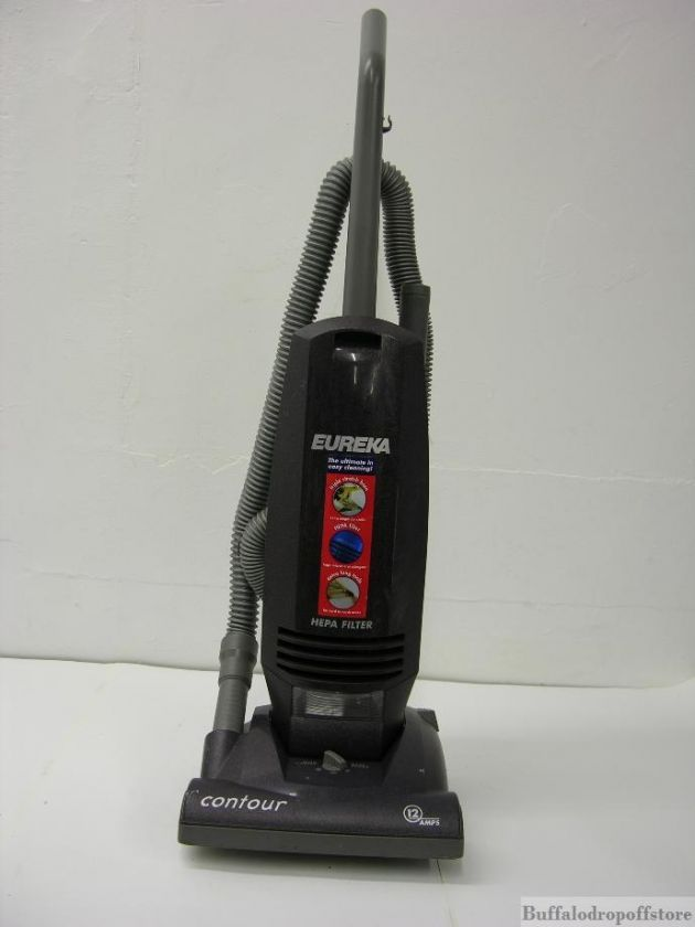 Everything Pictured Eureka Contour Upright Vacuum 12 Amp Hepa Filter Upright Vacuums Hepa Filter Vacuums