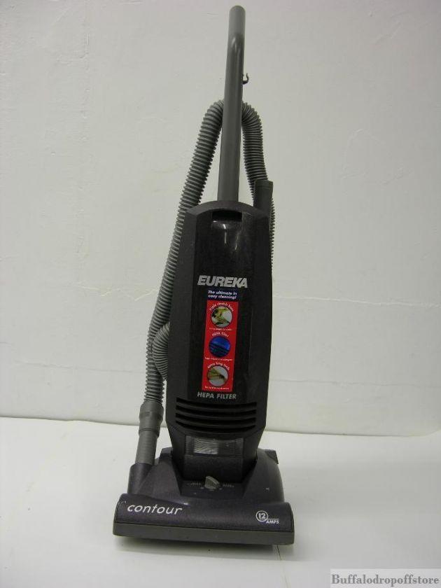 Everything Pictured Eureka Contour Upright Vacuum 12 Amp
