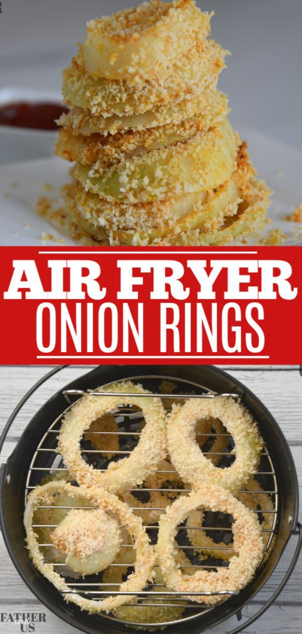 AIR FRYER ONION RINGS in 2020 Recipes, Game day food