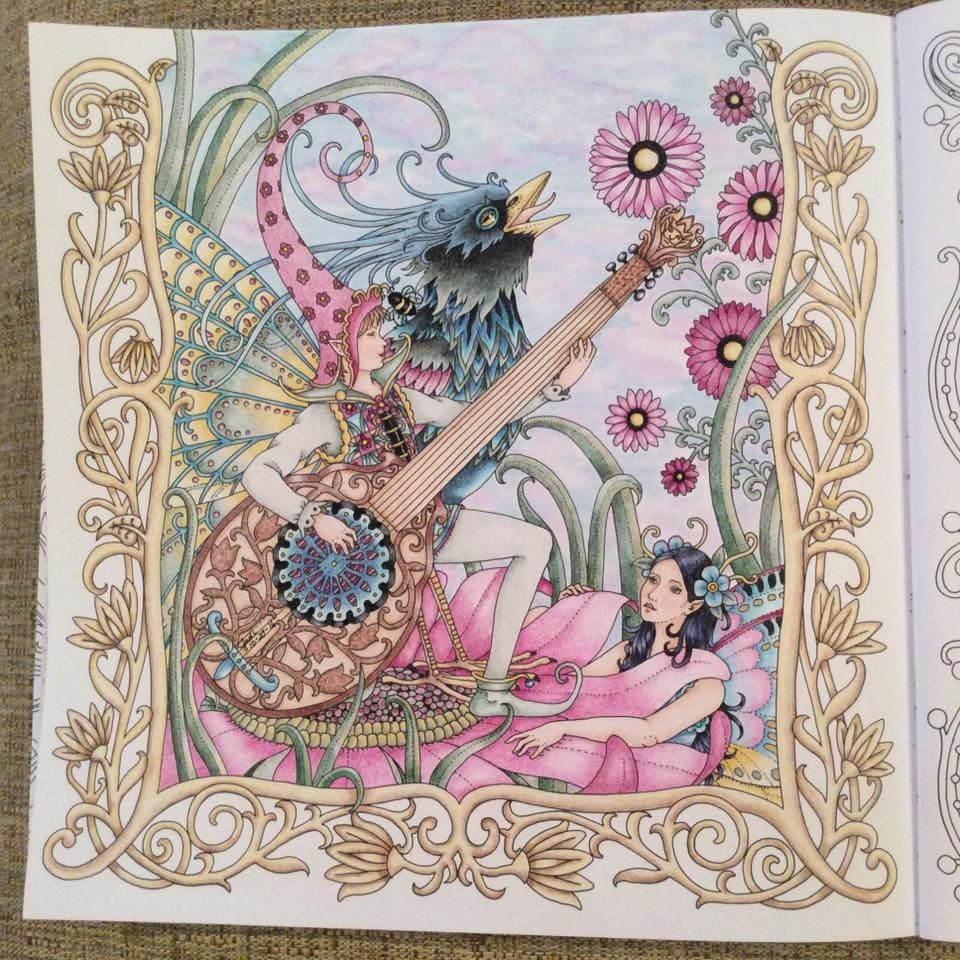 From Zemlja Snova coloring book. The artist is Tomislav ...