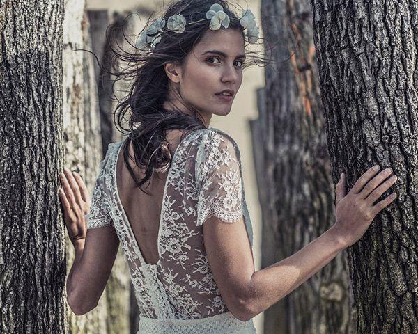 vestidos de novia de laure de sagazan #boda #vestidos | wedcala