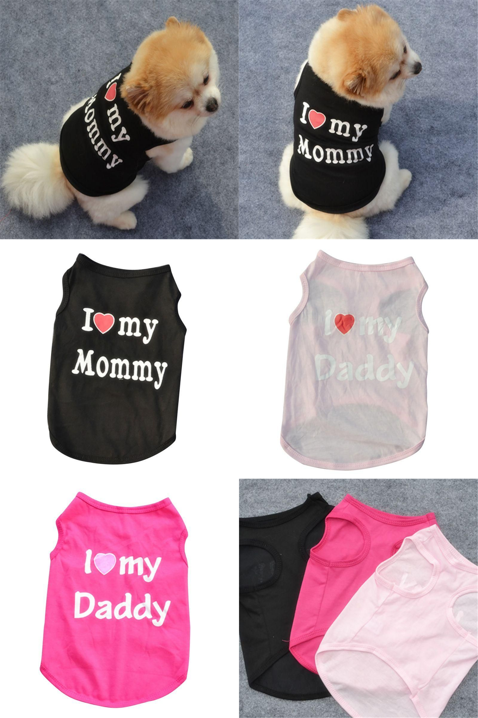 Visit to Buy] 2016 Cute Pet Dog Clothes Pet Cat Clothing Summer