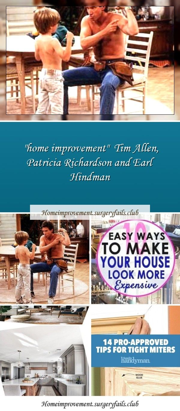 """home improvement"" Tim Allen, Patricia Richardson and Earl"