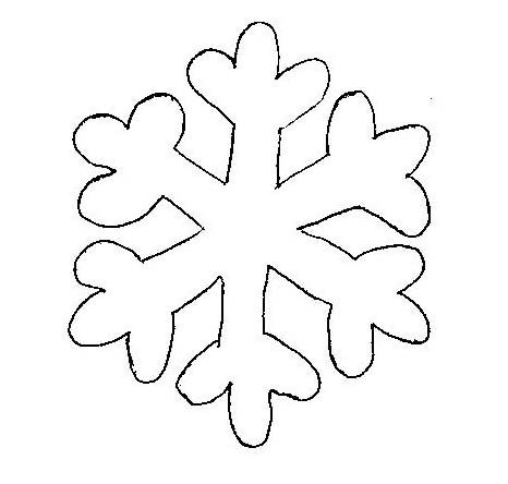 Snowflake Template  Clipart Best  Christmas TableclothCurtains