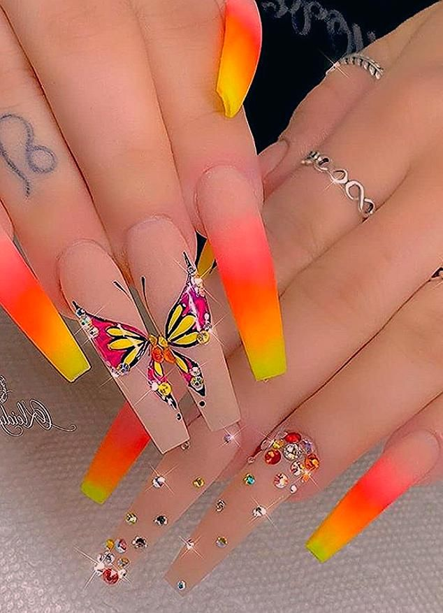 coffin nails design, acrylic coffin nails, coffin nail designs summer, Fall coffin nails, long , glitter coffin nails,classy coffin nails, summer coffin nails, coffin nails length, neutral coffin nails #coffin #summer #acrylic #Nails #Fall #fashion #longnails