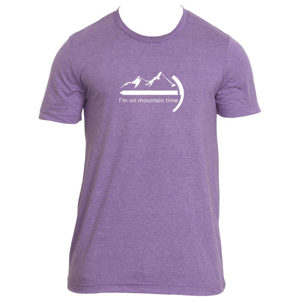 I'm on Mountain Time Mountaineer - Men's T-Shirt