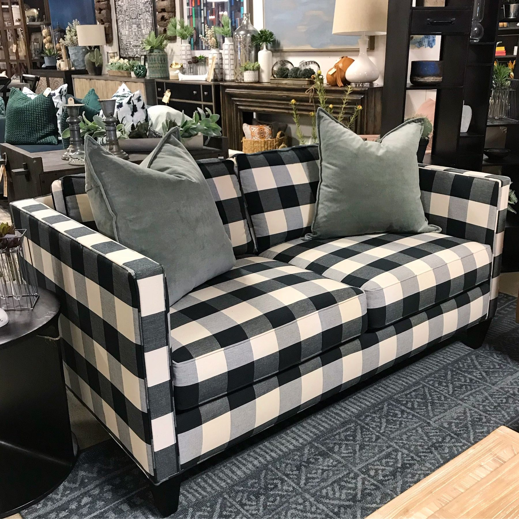 We Love The Versatility Of The Black And White Buffalo Check