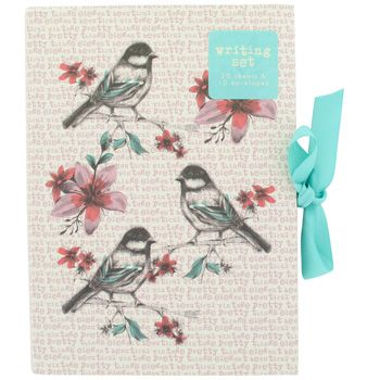 Bird Book Writing Set  Ps Write Me A Letter    Bird