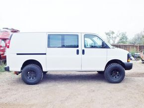 Lifted Van Lift Kit For Chevy Express Van Chevy Express Chevy Van Lifted Van