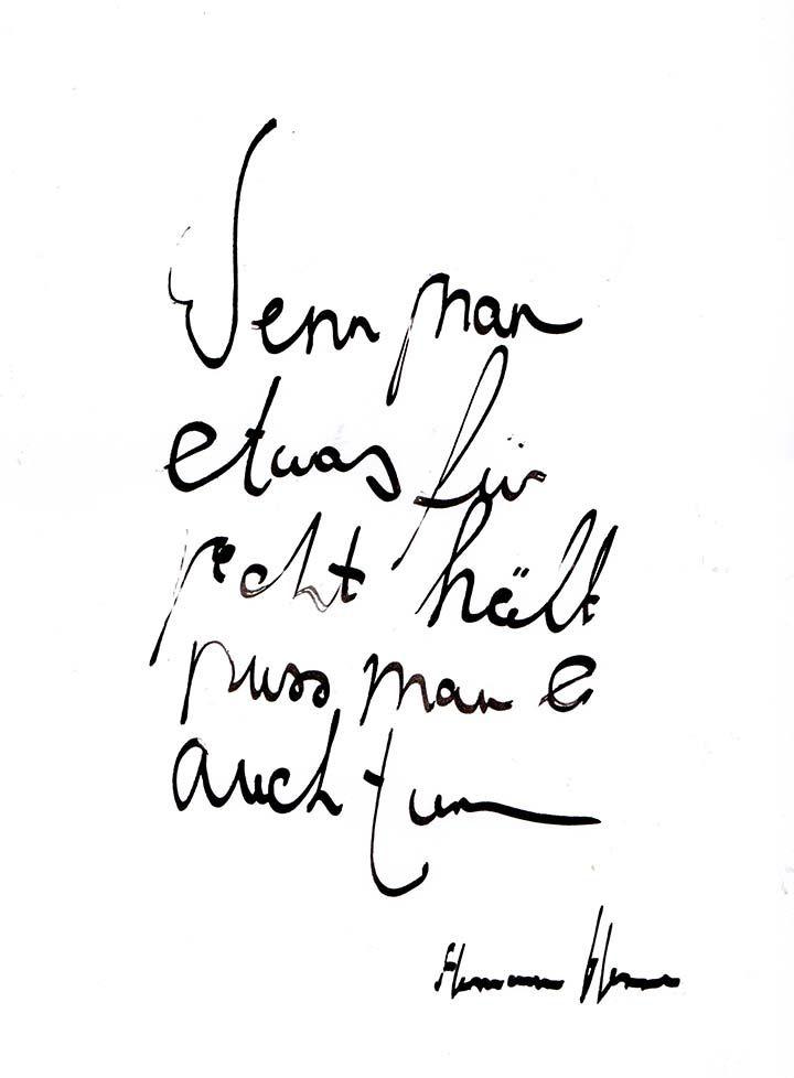 Gedanken Hermann Hesse Zitate
