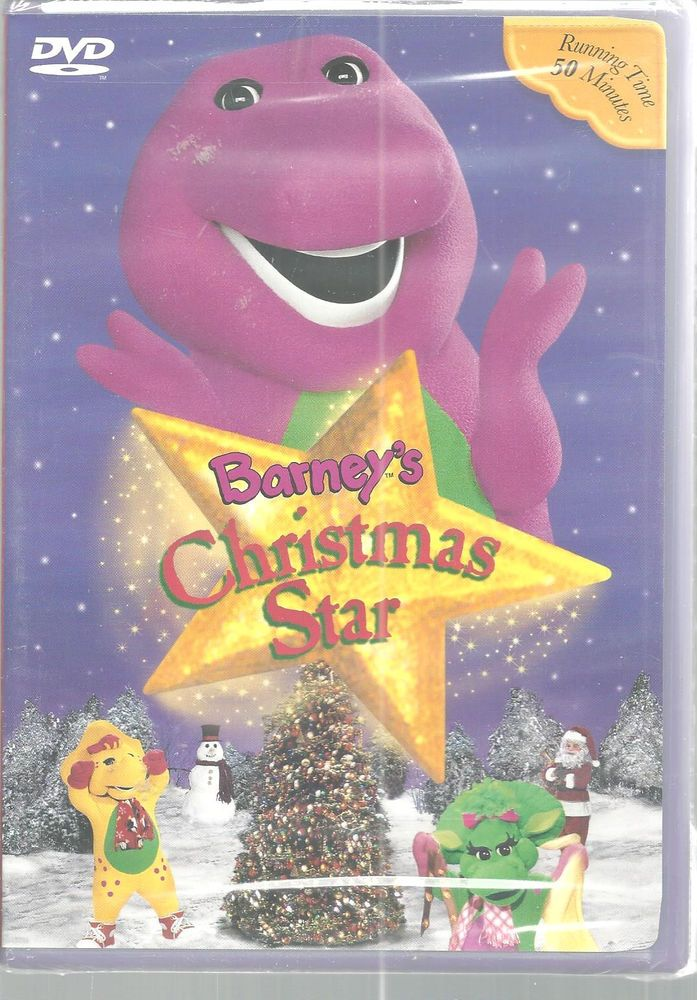 Barney\'s Christmas Star Childrens DVD 2002 NEW | Ebay For Everyone ...