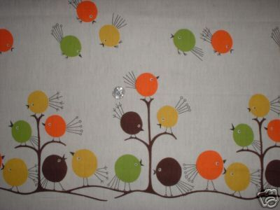 Look at this adorable vintage fabric!