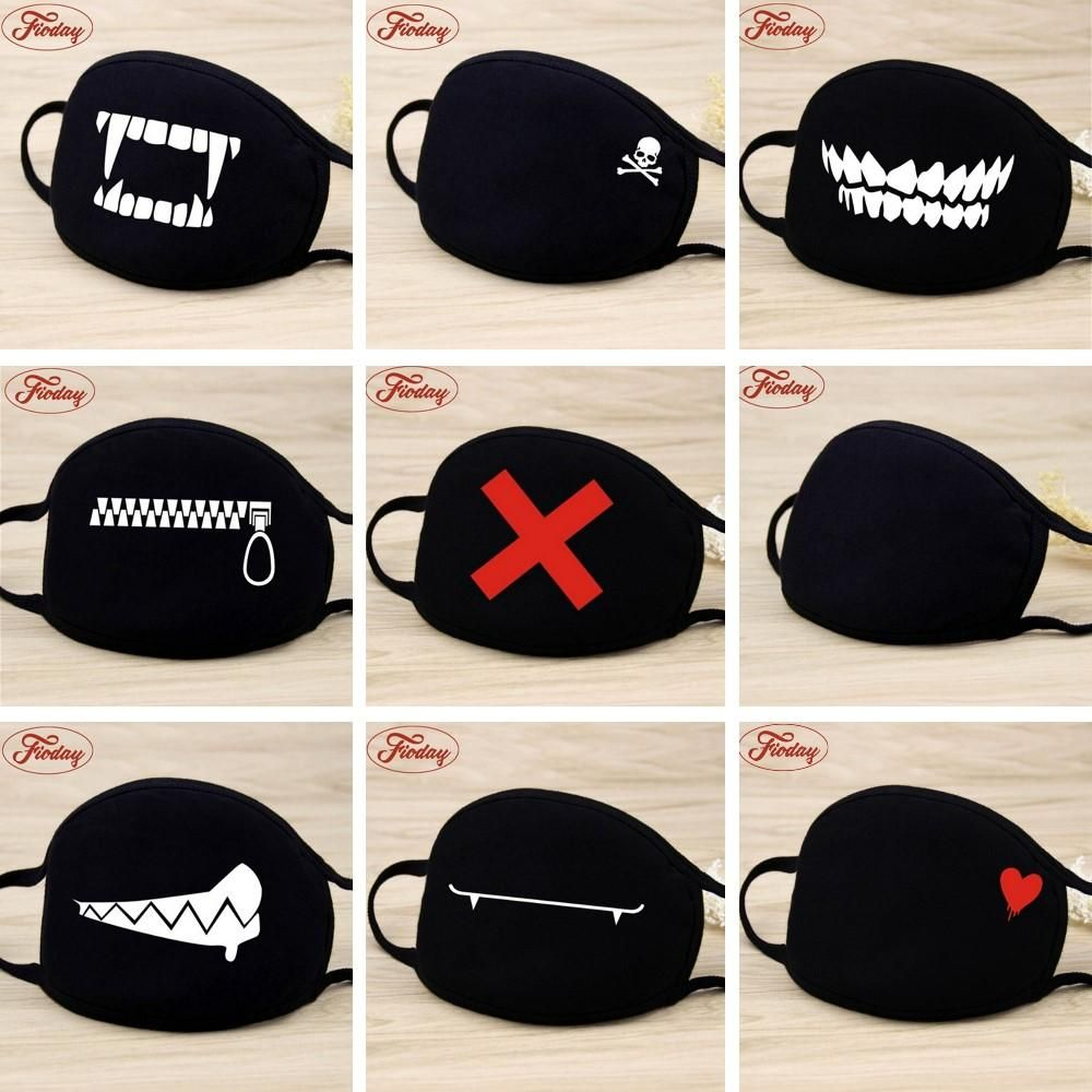 Camouflage Accessories Face Cool Mouth Mask Kids Unisex