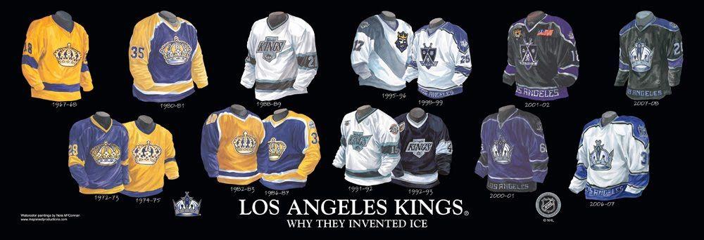 Monarchs Honor La In 1996 Kings 3rd Jersey La Kings Hockey La Kings Los Angeles Kings