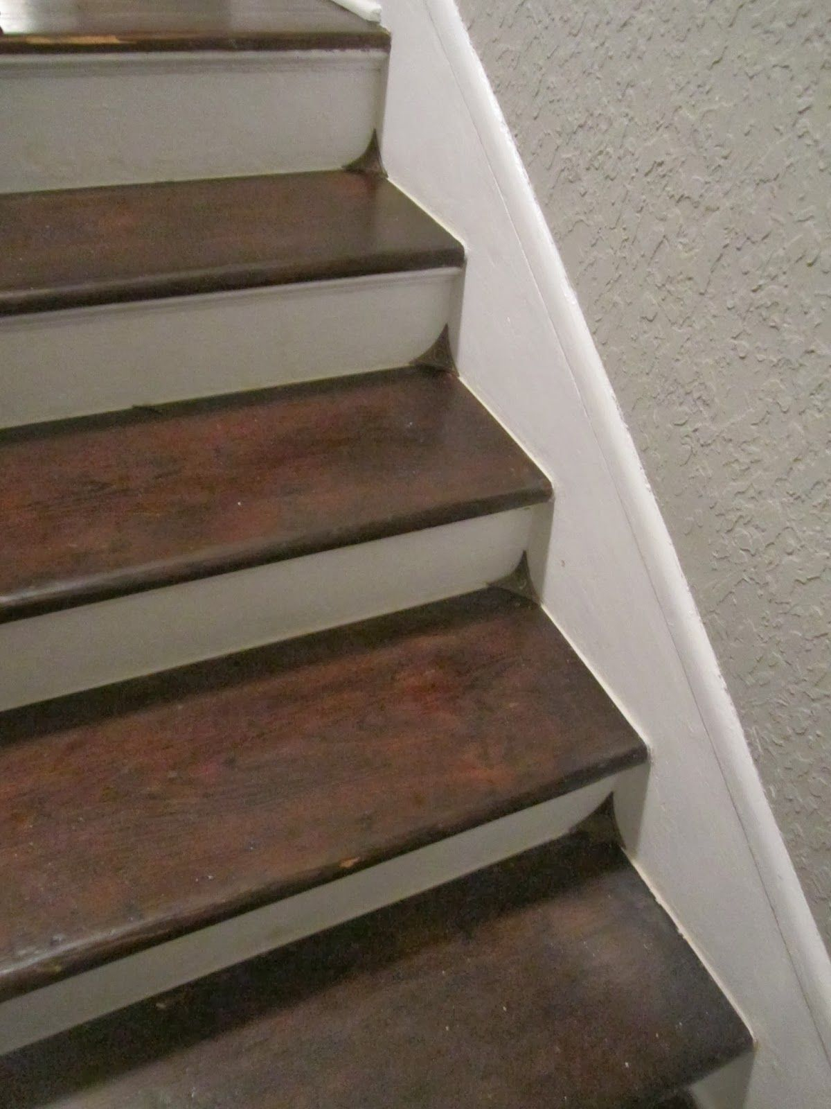 Best Cornered Old House Wood Stairs Wood 400 x 300