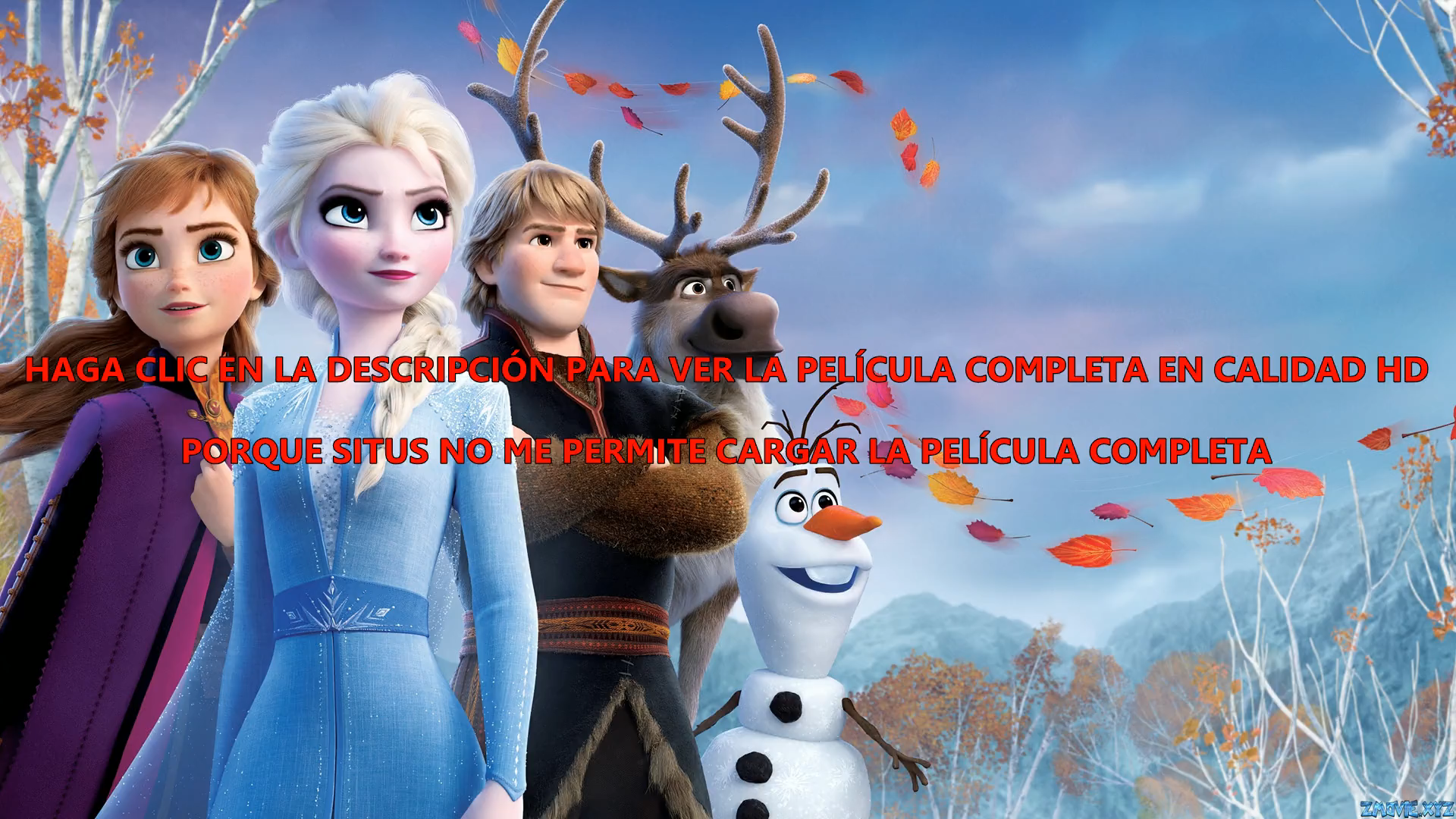 Frozen 2 2019 Pelicula Online Repelis Video Comedy Movies Comedy Films Funny Comedy Movies