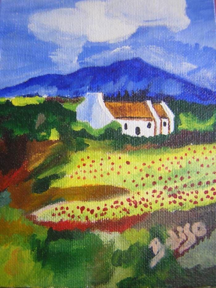 Begoña Liso Escrich ; paisaje irlandes