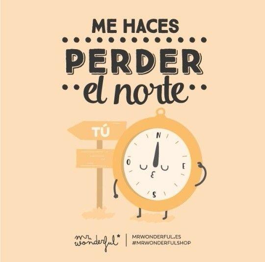 Mr Wonderful Brujula Norte Frases Pinterest Palabras