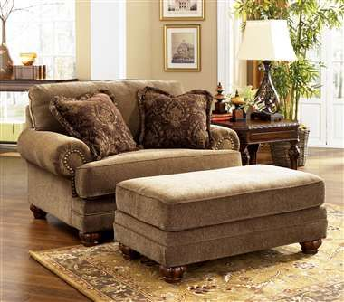 love the large chair and a half it allows another person or a dog to