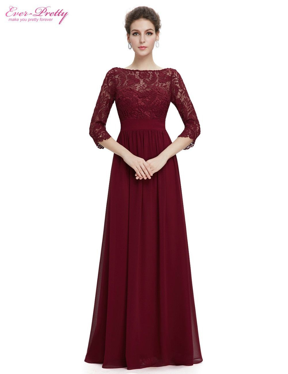 Occasion  Formal Evening Item Type  Evening Dresses Waistline  Empire  is customized  No Fabric Type  Satin Dresses Length  Floor-Length Neckline   O-Neck ... 2f5d3e1af946