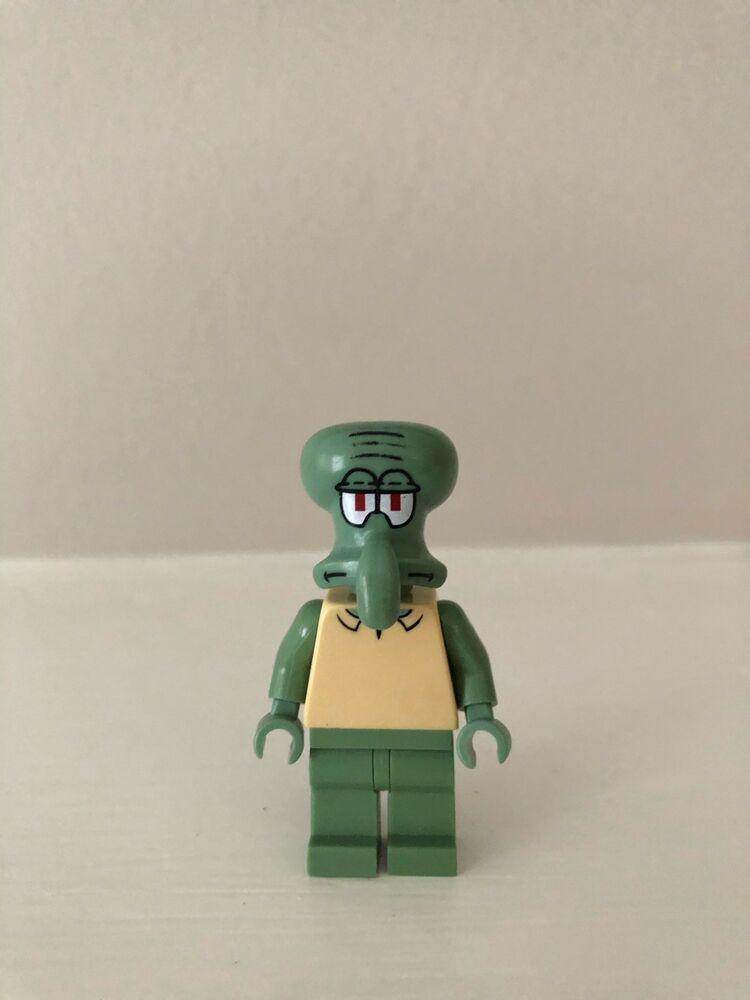 Lego Spongebob Squarepants Squidward Collectible Minifigure Afflink