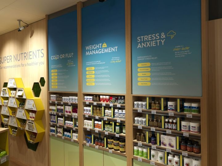 NutriCentre by The Yard Creative, London UK pharmacy ...