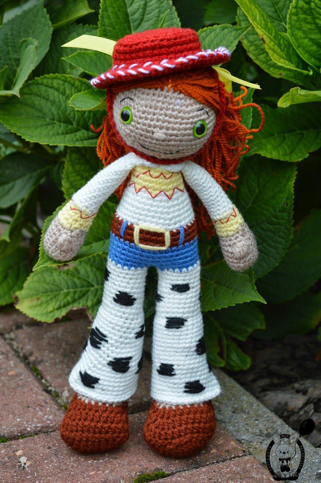 My Crochet Privacy ...: Lalka Jessie (Toy Story) / Jessie the Doll ...