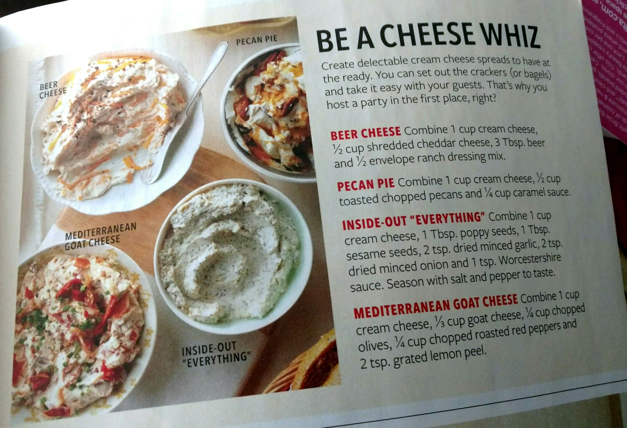 Be a cheese whiz. Taste of Home
