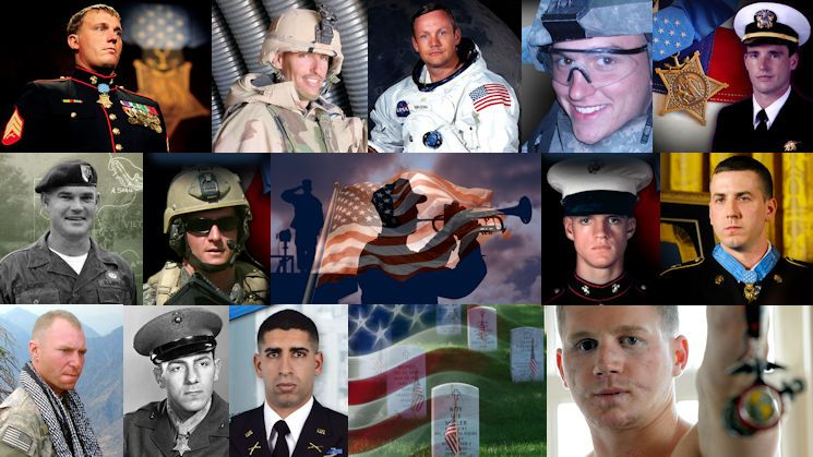 America's heroes listed at USA Patriotism! including all of Her greatest ones ... the Medal of Honor Recipients ... along with many other honored military and non-military patriots ... including those who made the ultimate sacrifice for the USA beyond self!