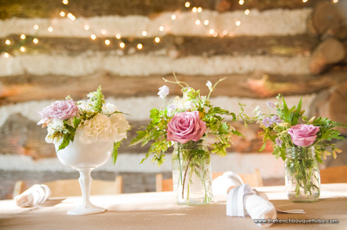 shabby chic wedding milk glass | ... inspiring wedding & event ...