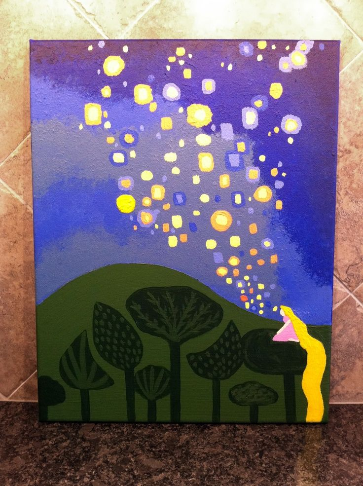 tangled painting google search paint pinterest
