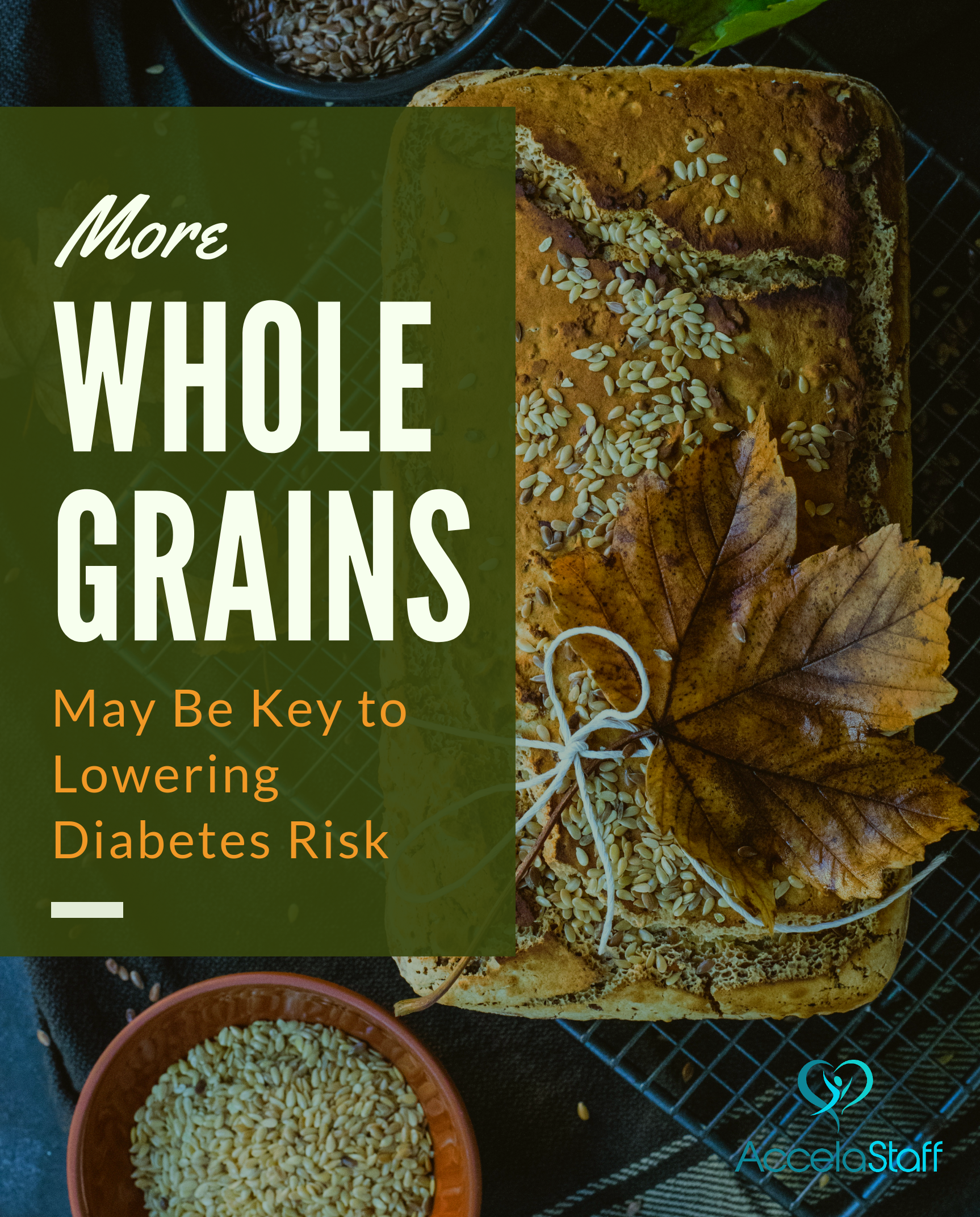 Eating more whole grain foods, such as rye bread, whole