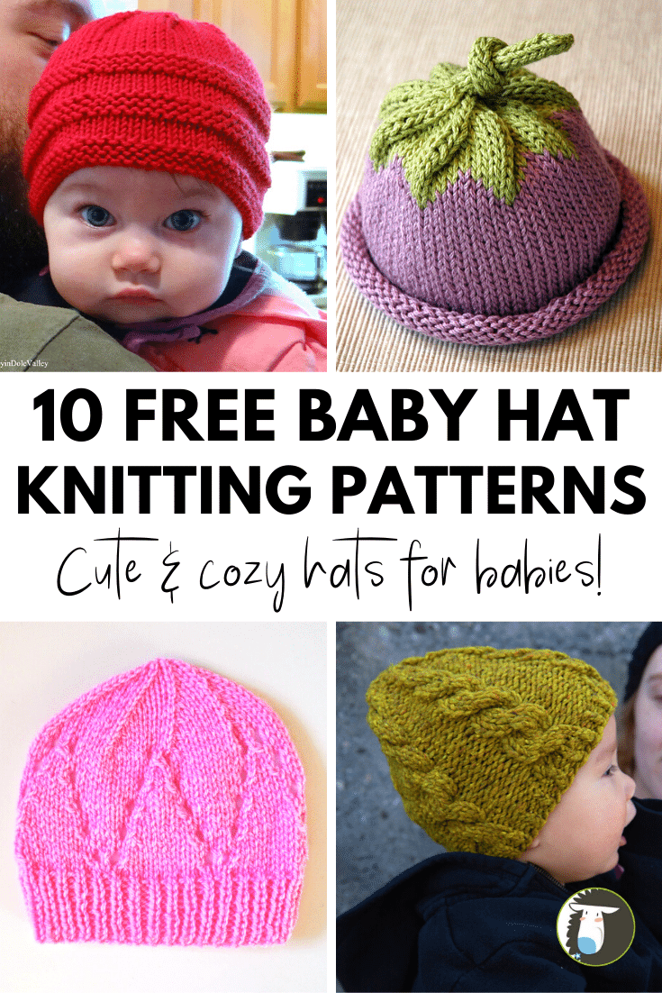 10 Adorable Free Baby Hat Knitting Patterns To Cast On Now Blog Nobleknits Baby Hat Knitting Pattern Free Baby Hat Knitting Patterns Knitting Blogs