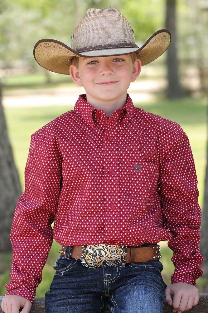 kids cowboy shirts
