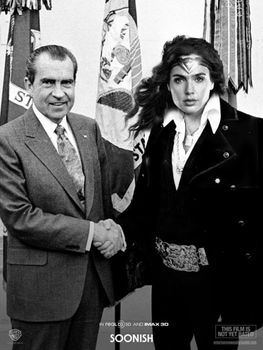 Sock It To Me Richard Nixon Wonder Woman Richard Nixon Entertaining