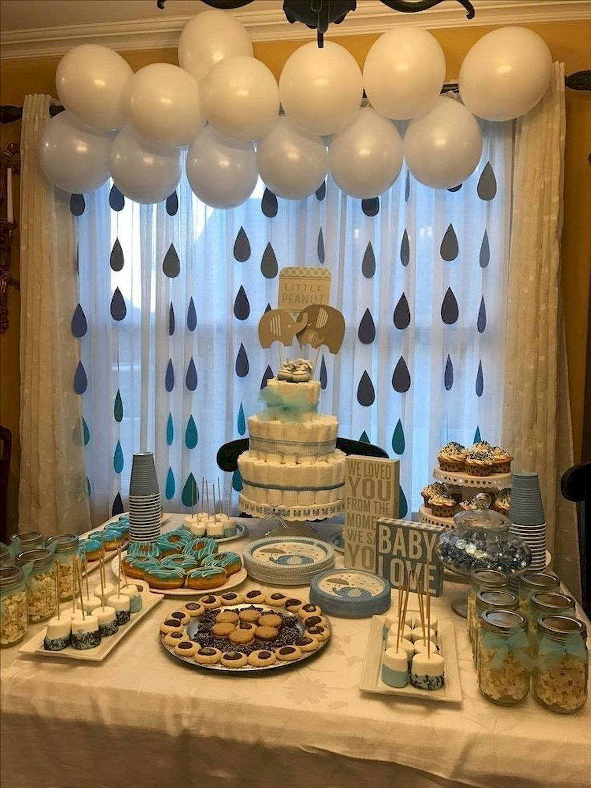 Pin By Baby Ideaz On Baby Shower In 2020 Peanut Baby Shower Boy