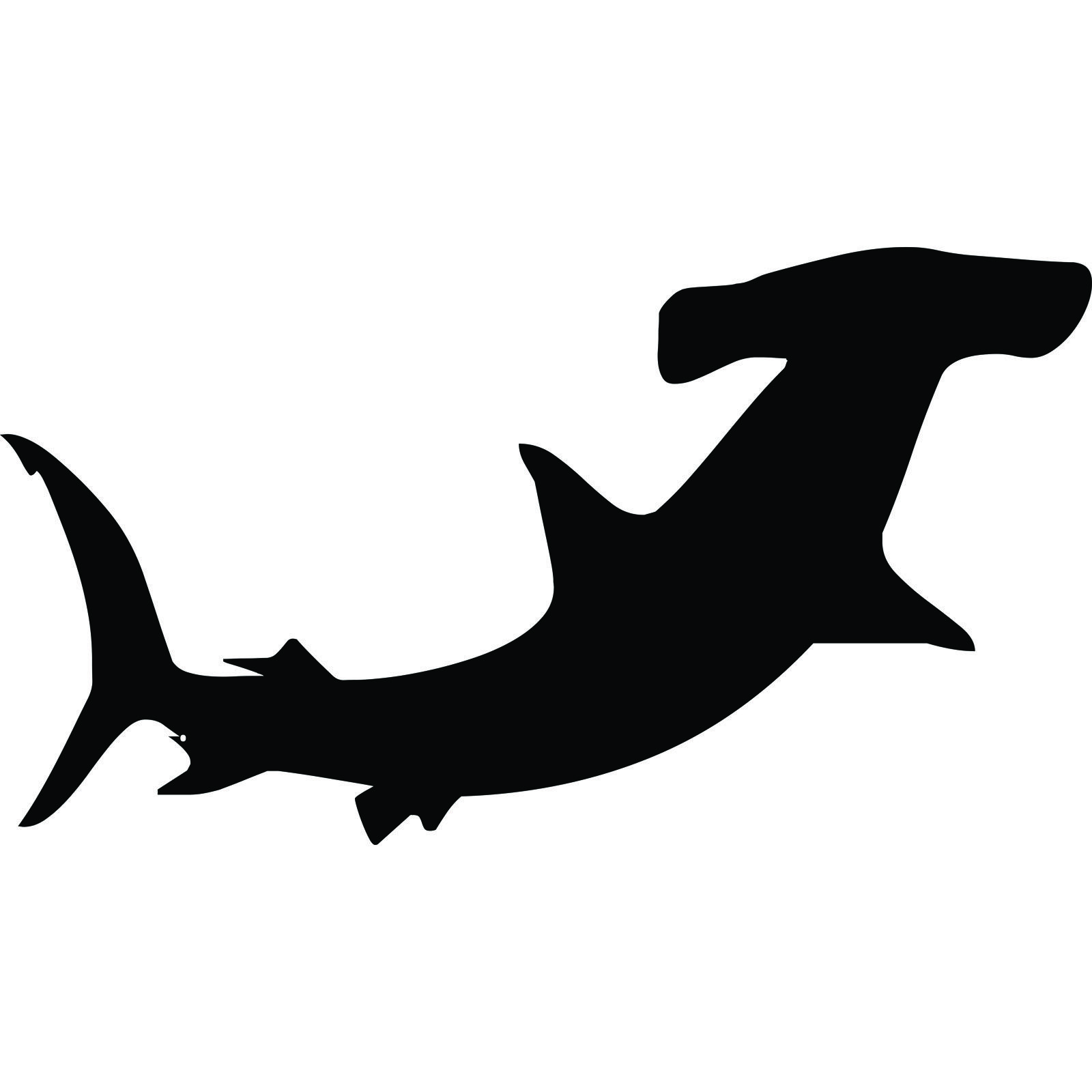 Images For Gt Hammerhead Shark Outline