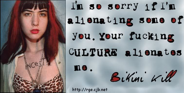 The punk singer, muy buen documental sobre Kathleen Hanna, cantante de Bikini Kill