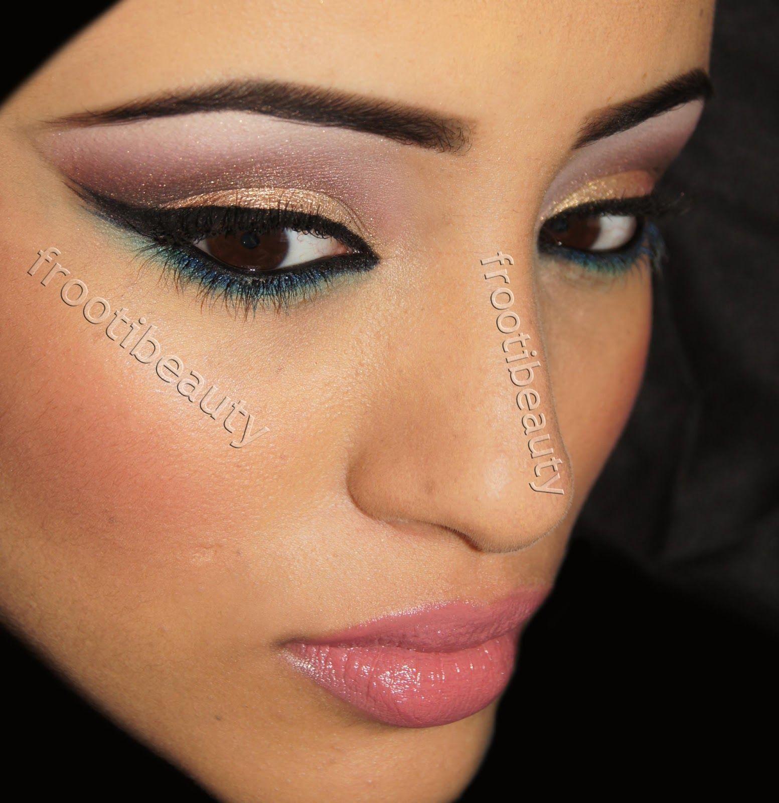 Mac Wedding Makeup | Mac Makeup Looks Wedding Green-blue makeup look ...