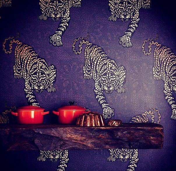 Matthew Williamson interiors #fashion #prints #love