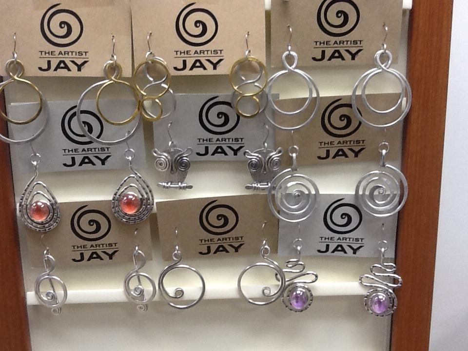 The Artist Jay From Greensboro Nc Earrings Made From