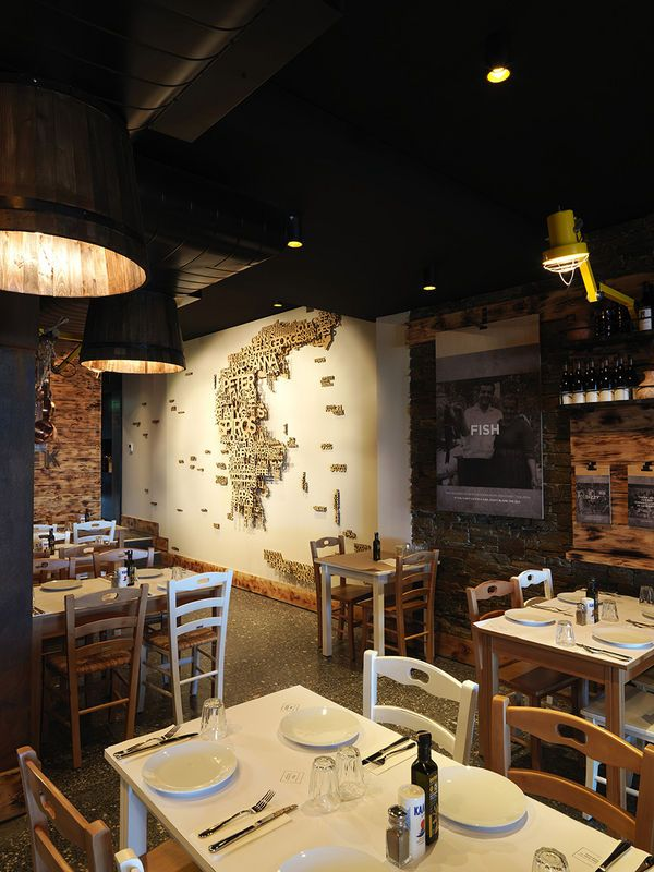 Design Consultancy Of Meet The Greek Restaurant By 39 End Of Work 39 Design