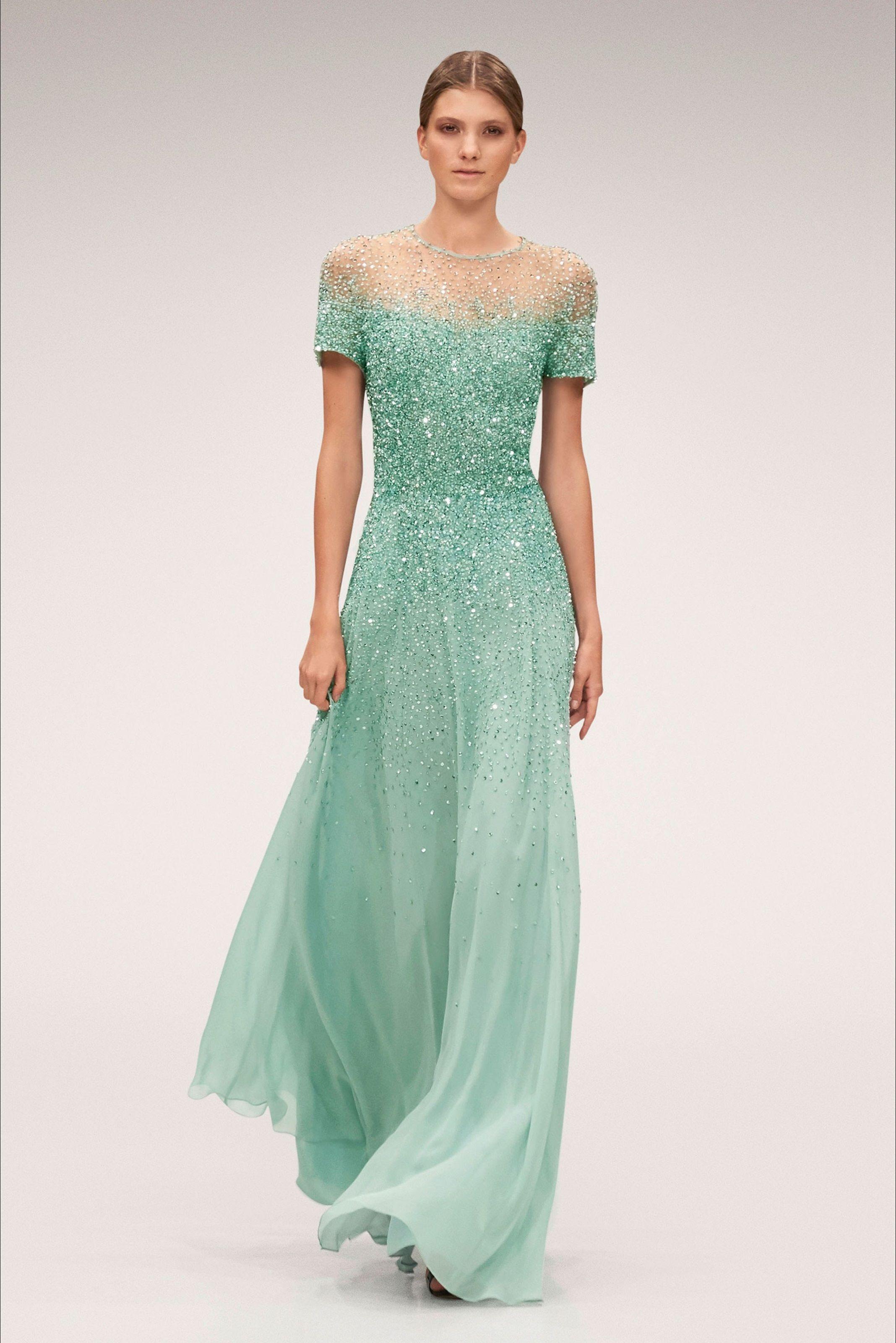 Abiti Eleganti 2018 Primavera Estate.Sfilata Escada New York Collezioni Primavera Estate 2018 Vogue