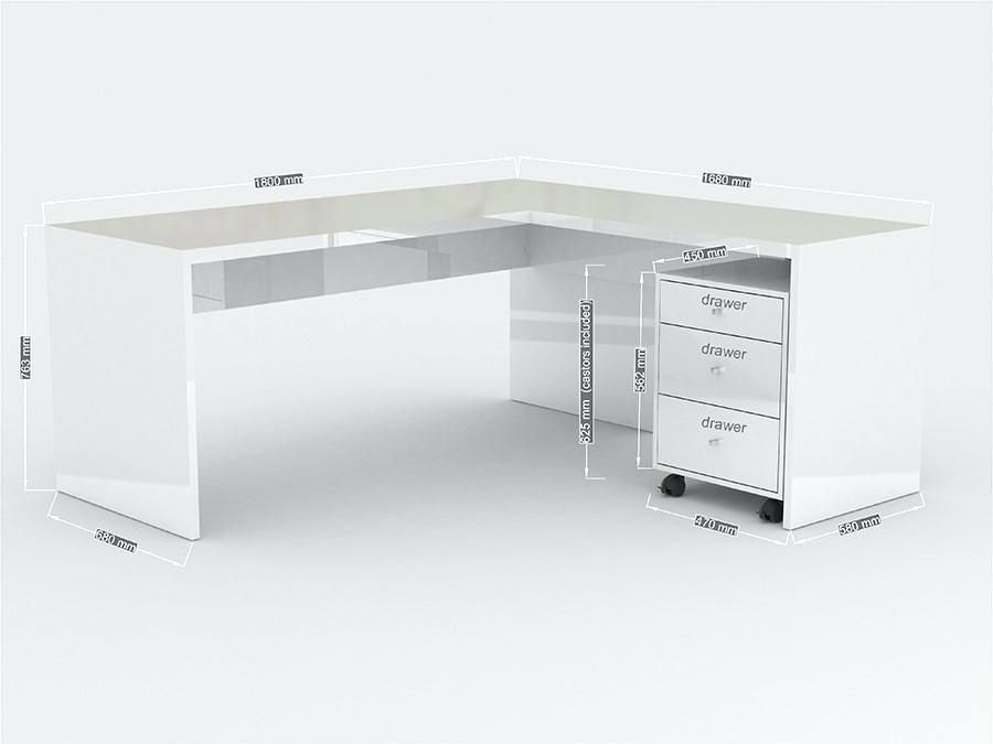 Bureau D Angle Blanc Bureau D Angle Blanc Bureau Angle Blanc Helenebeauty White Desk Office Home Office White Desk White Desks