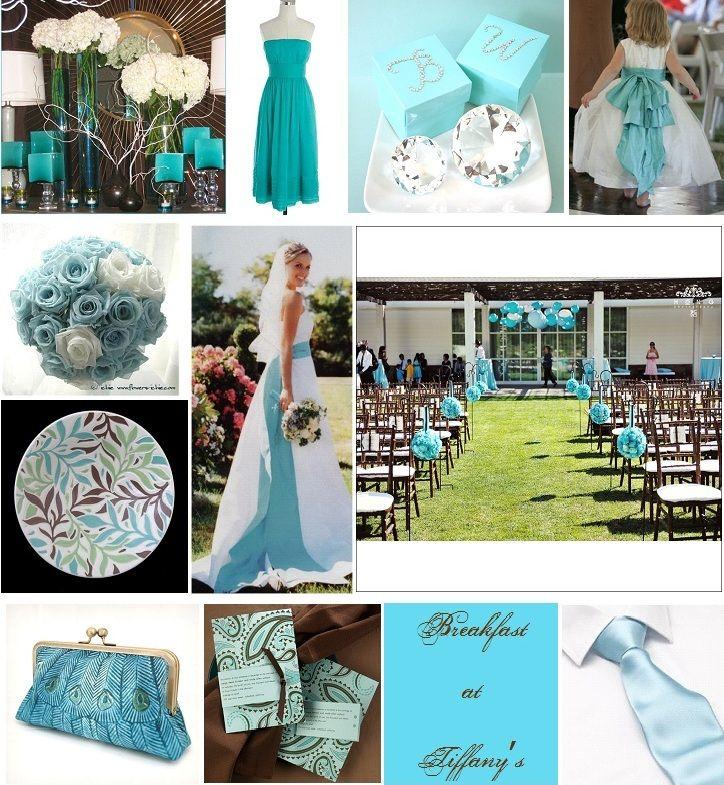 tiffany blue rustic wedding ideas Tiffany Blue Chocolate Brown