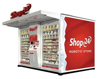Shop24 Automated Store Giant Vending Machine With A 10x13 Ft