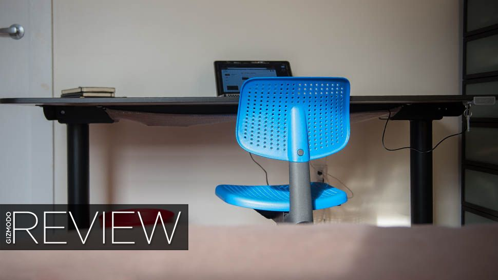 Ikea Sit Stand Desk Review I Can T Believe How Much I Like This Sit Stand Desk Desk Ikea